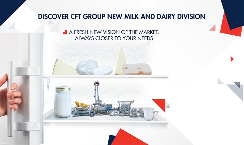 Macchinari per industria lattiero casearia