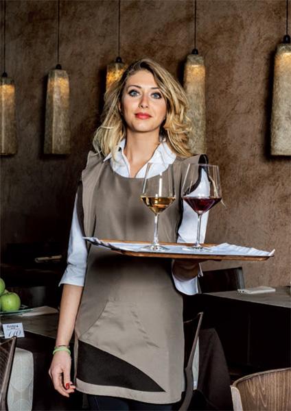 Divise fashion per ristorazione