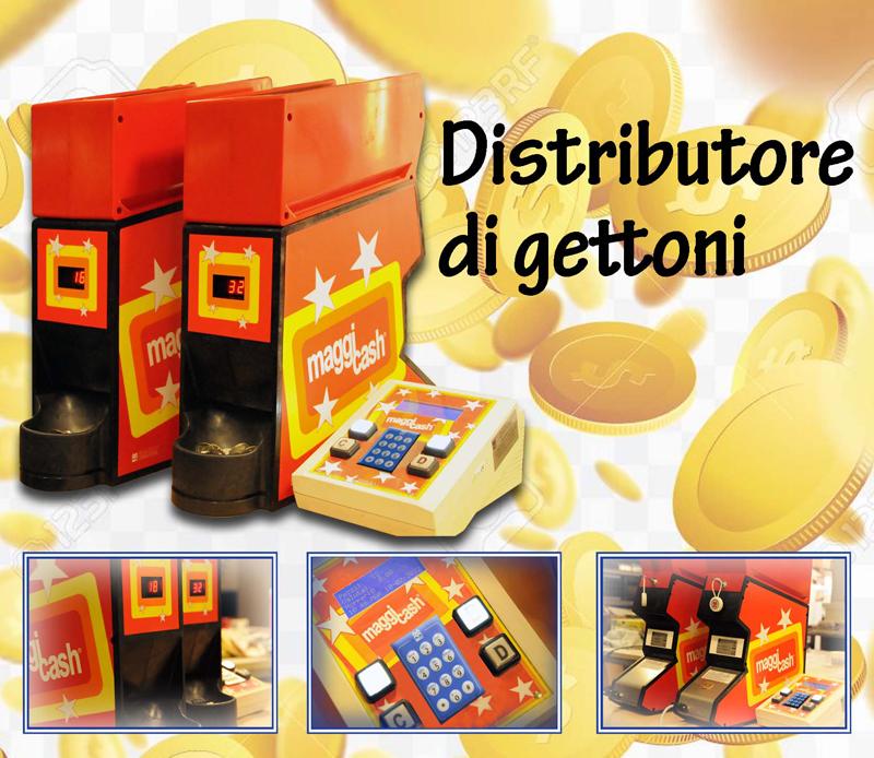 Distributore gettoni