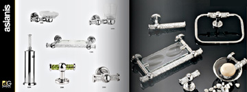 Accessori bagno in ottone e cromati dededimos group for Accessori bagno cromati