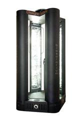 Produzione lampade abbronzanti per solarium biosolarium for Piani di cabina solare