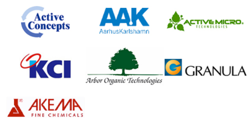 Companies represented by Huwell Chemicals Spa