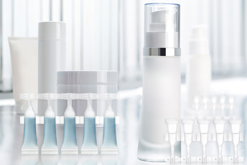 Single Dose Containers And Strips For Cosmetics Discos