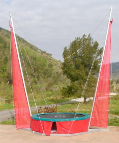 Elastic trampoline