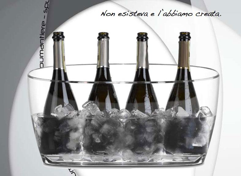 secchielli per bottiglie spumante