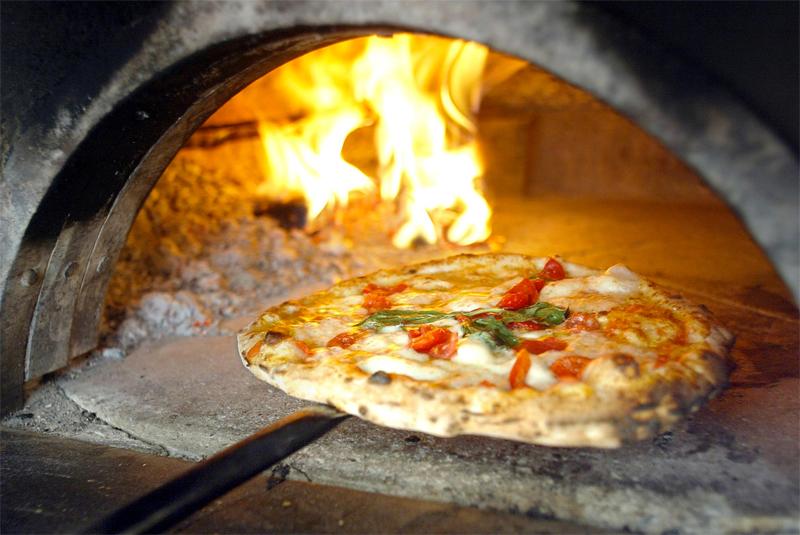 Produzione forni rotanti per pizzeria