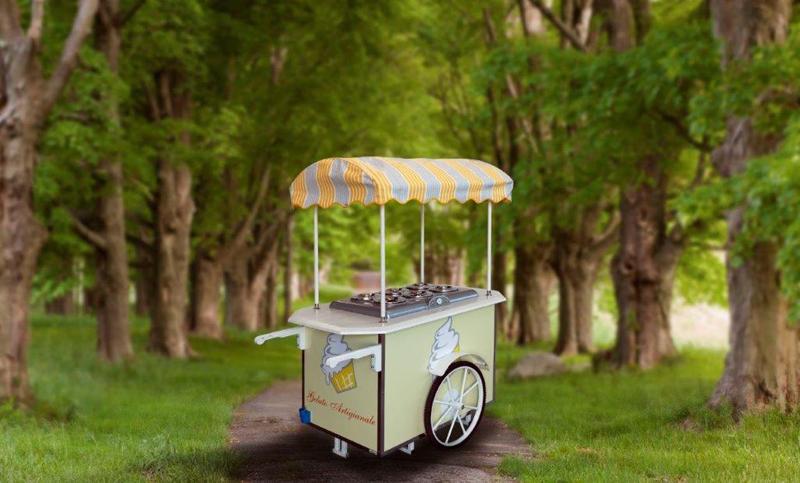 Carretti per vendita gelato