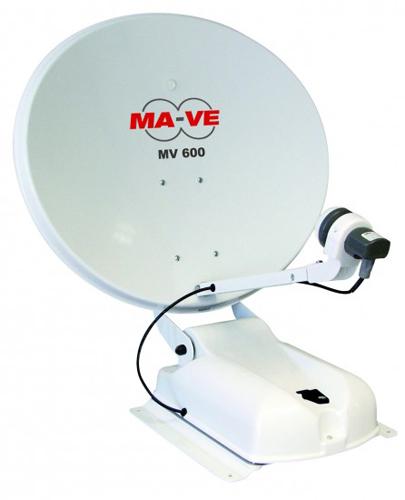 Antenna satellitare a puntamento automatico MV600