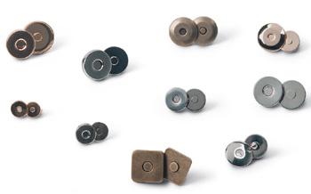 Chiusure magnetiche in ferro e in ottone