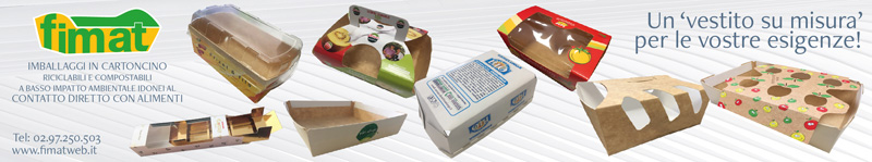 Imballaggi in cartoncino compostabili e riciclabili