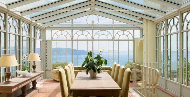 Realizzazione giardini d 39 inverno e verande atelier italia - Giardino di inverno ...