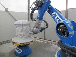 Robot per  marmo