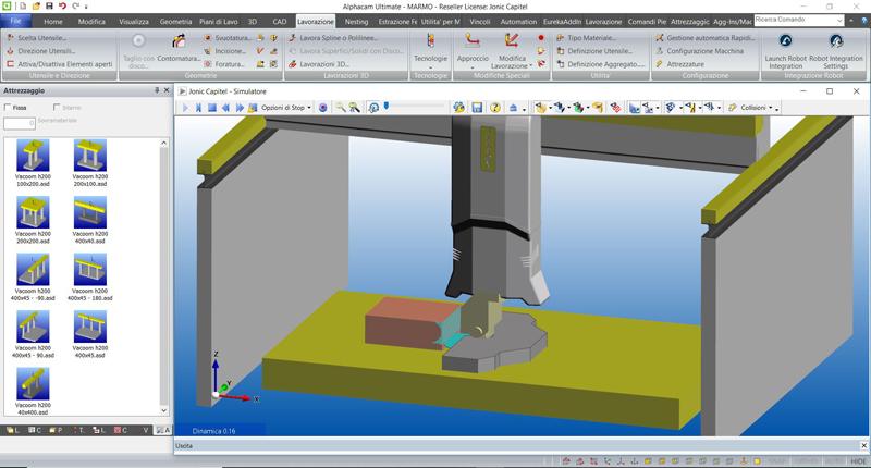 Software per lavorazioni industriali marmo