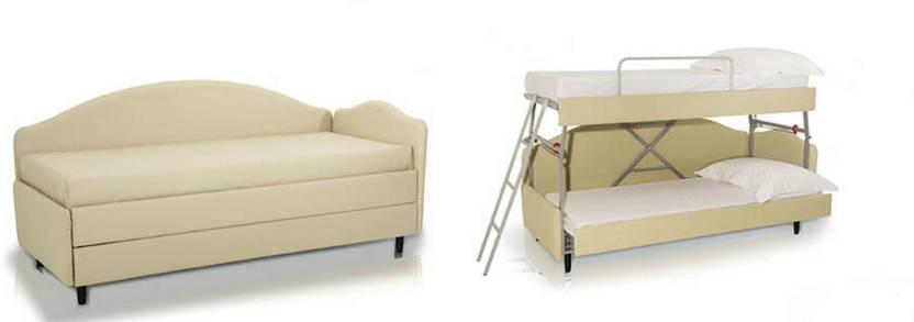 Divani trasformabili in letto per alberghi pandi for Divano letto trasformabile