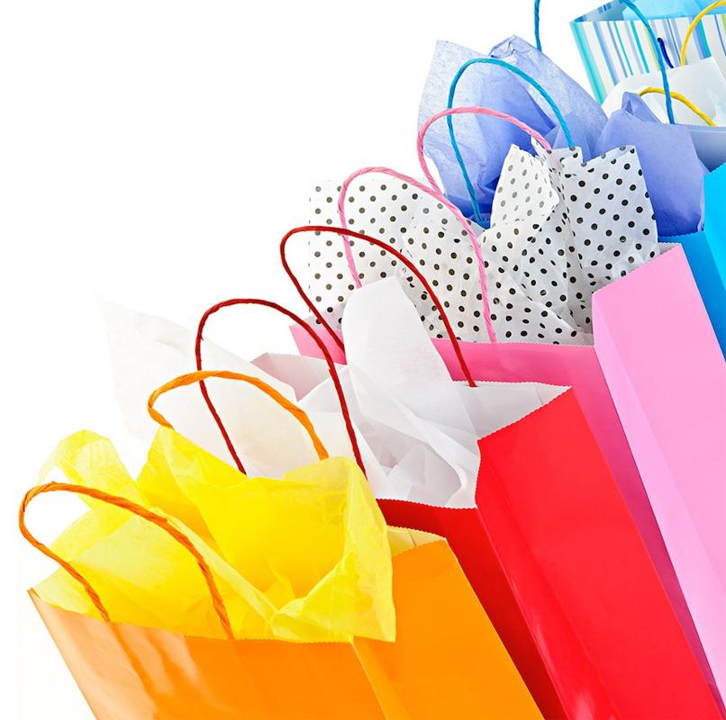 Buste e sacchetti per negozi