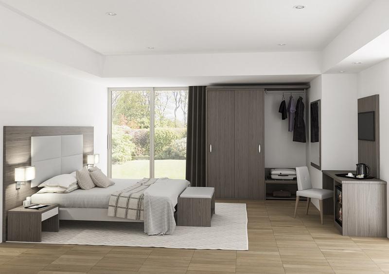 Forniture complete per strutture alberghiere fas italia for Arredo camere albergo