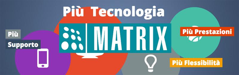 Sistemi per le telecomunicazioni, la sicurezza e la videosorveglianza Matrix