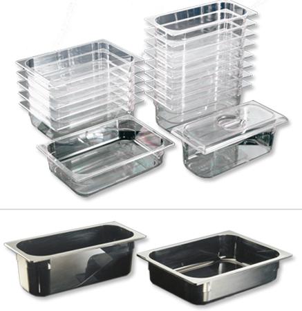 Articoli per gelateria: vaschette