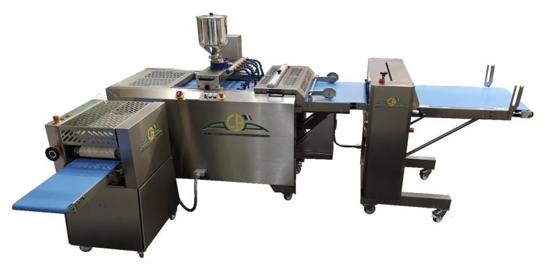 Macchine per produzione e formatura prodotti di pasticceria