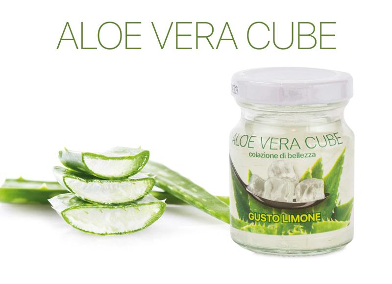 Aloe vera in cubetti Aloe Cube