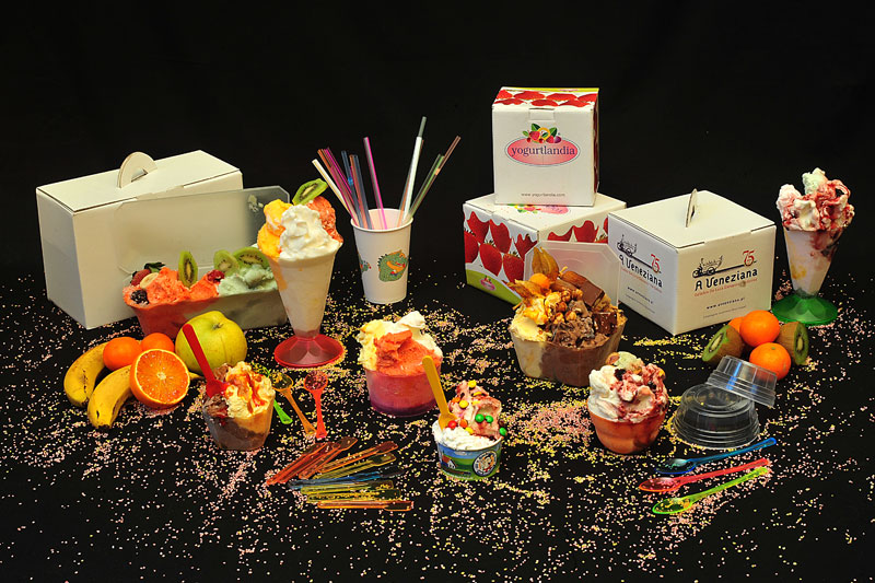 Contenitori per gelateria