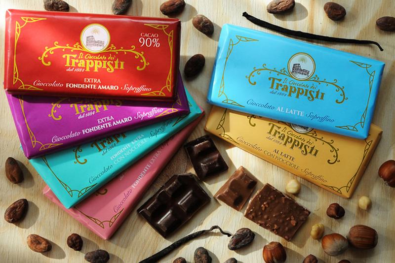Produzione cioccolato in barrette