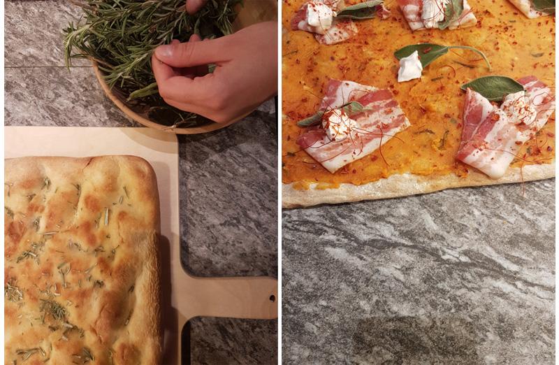 Basi pizza e focacce precotte