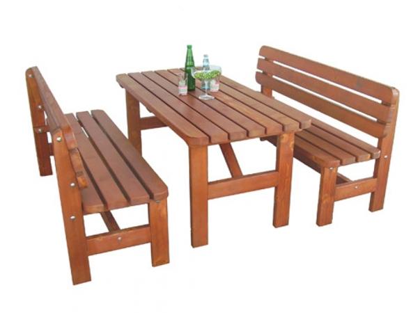 Set birreria euroavi for Panche in legno da giardino