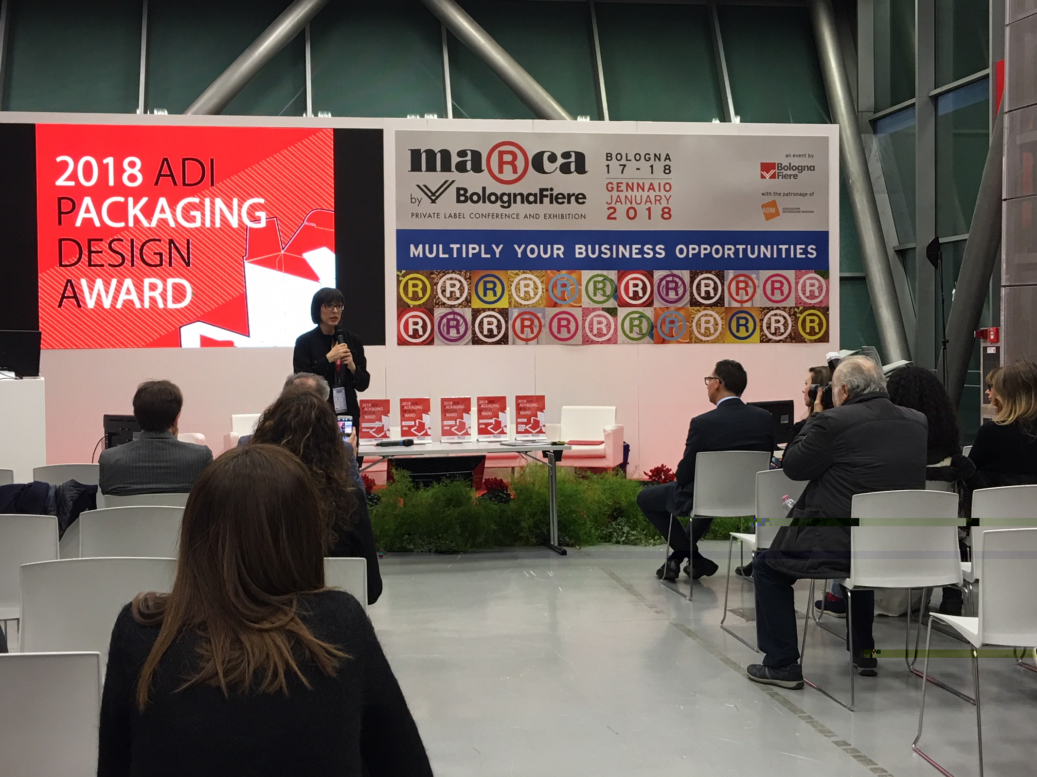 ADI packaging award fiera marca 2018
