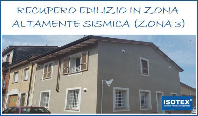 Case history: recupero edilizio, a prova di sisma, nel centro storico di Cortemaggiore (PC)