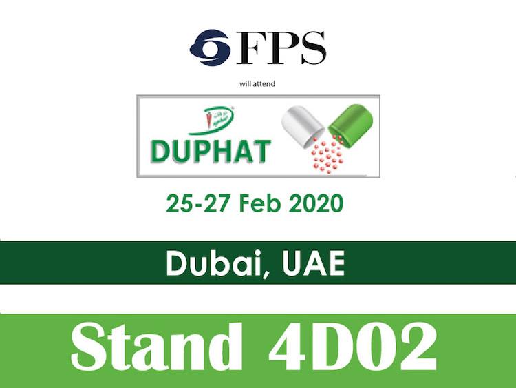 FPS sarà presente al prossimo DUPHAT Tech a Dubai