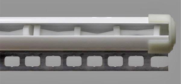 Barre cilindriche in alluminio per affissioni retail DOUBLE GLOBALTE