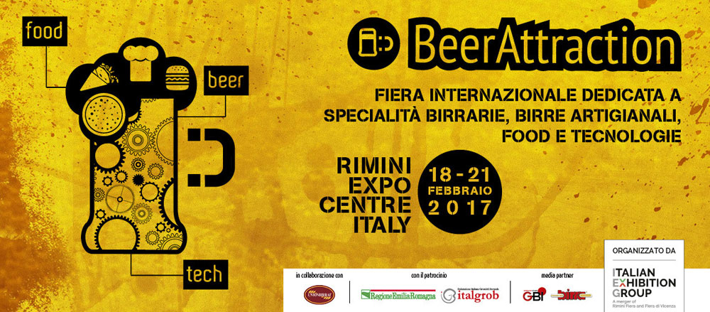 BEER ATTRACTION 2017, il Salone dedicato alle specialità birrarie e alla birra artigianale