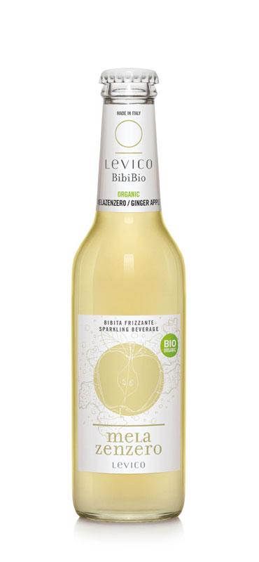 Bevanda frizzante gusto mela-zenzero - BibiBio
