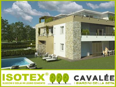 Il sistema costruttivo Isotex per i giardini della seta alle porte di Milano