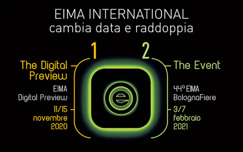 EIMA International cambia il calendario e raddoppia