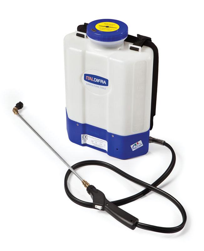 Elettropompa a spalla e batteria ricaricabile SERENA ITALDIFRA