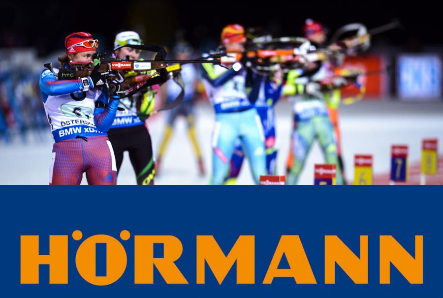 Hörmann e il biathlon. Insieme per lo sport