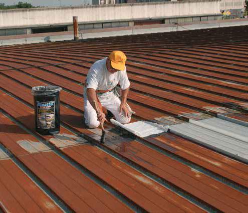 Elastik impermeabilizzante per copertura tetti