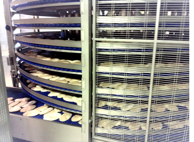Impianti di essiccazione per panini