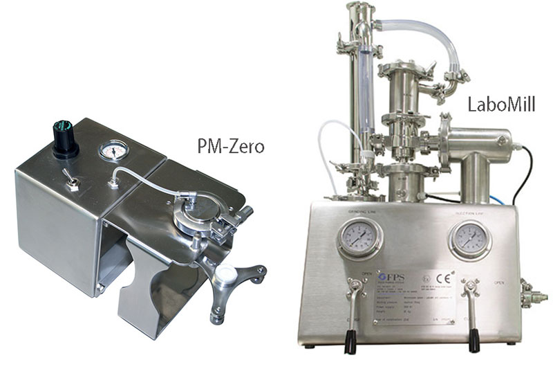 Laboratory micronizer for R & D applications - FPS
