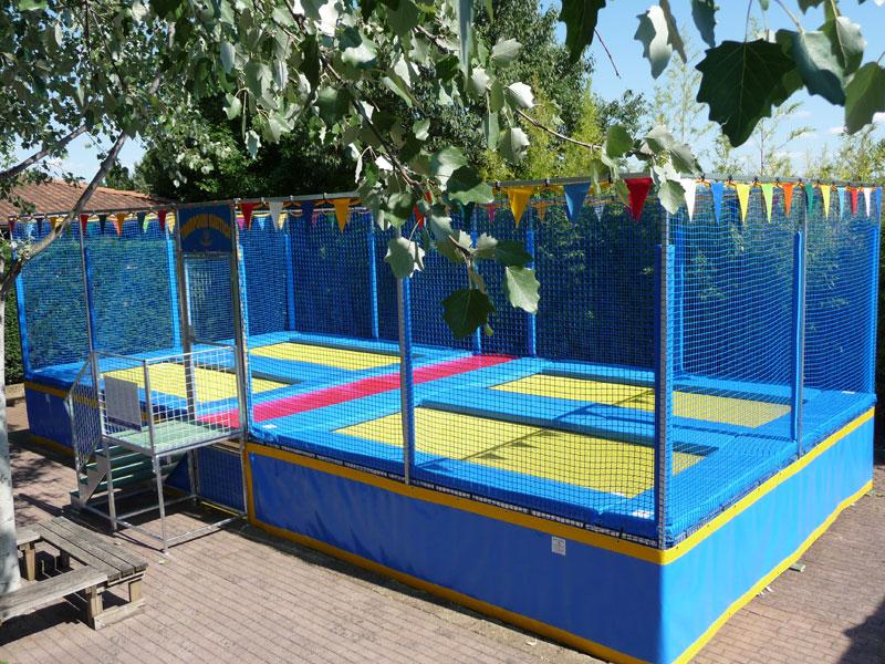Trampolino elastico per parco giochi e aree ricreative GUZZI EUGENIO