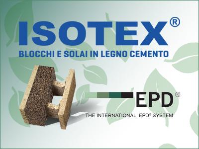 I prodotti Isotex sono tutti certificati EPD