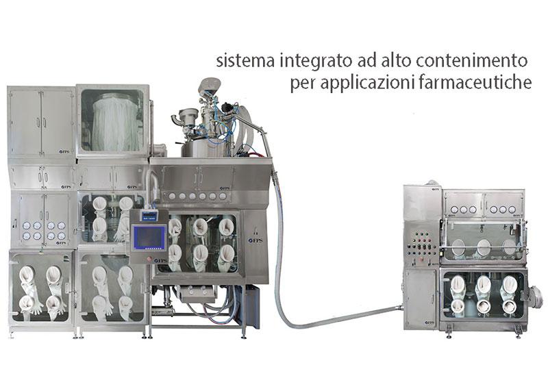 Progetti cistom per industria farmaceutica - FPS