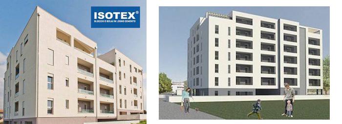 Il sistema costruttivo Isotex per l'edificio più alto di Cagliari