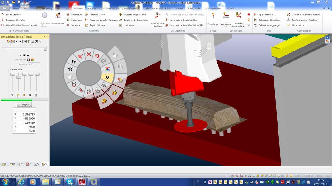 Software modulare per lavorazione legno