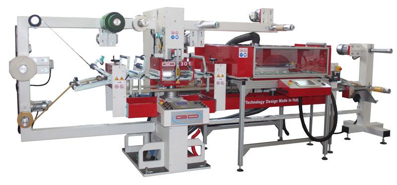 Sistema taglio laser verticale e lama piano GD PLAS GUIDOLIN GIROTTO