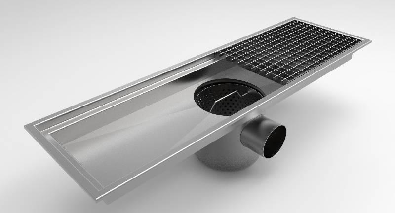 Canalette di drenaggio in acciaio inox F.LLI MALIN