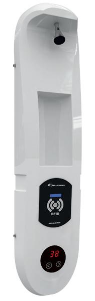 Doccia con miscelatore digitale