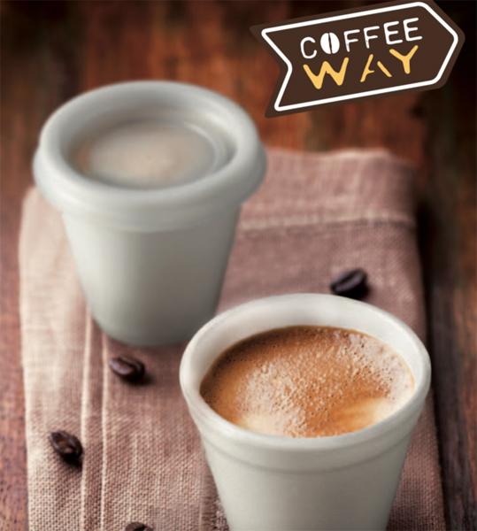 Contenitori asporto caffè